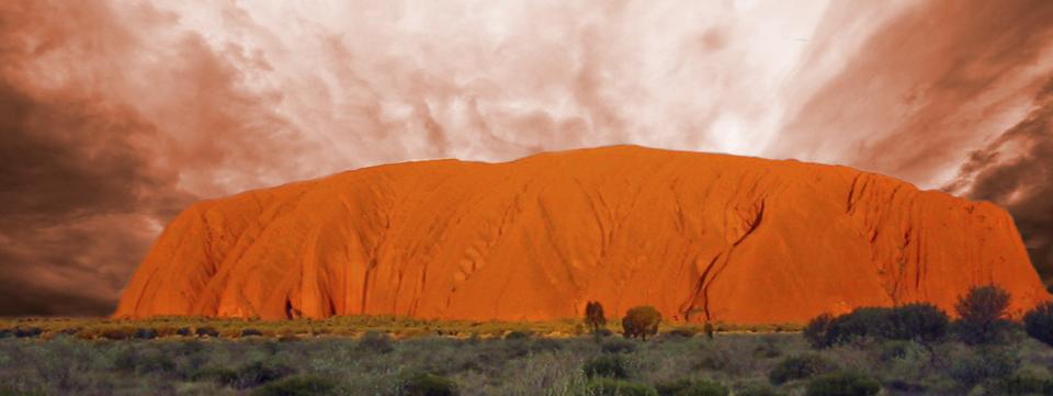 Australien-Hintergrund