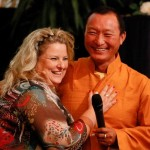 K800_Karin Tag and Lama Tshewang Dorje 3rd congress Council of World Elders