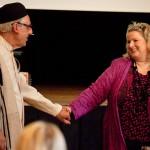 K800_Reza Maschajechi und Karin Tag, 3. Kongress des Council of World Elders