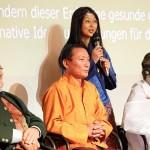 K800_Sepp Holzer, Lama Tshewang Dorje and Pema, Swami Isa, 3rd congress CoWE