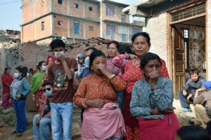 32_Nepal Earthquake_village